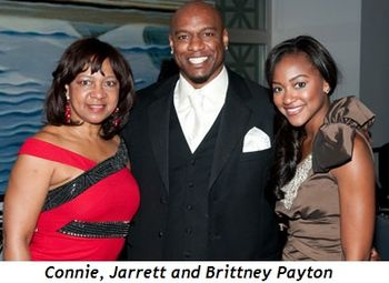 Connie, Jarrett and Brittney Payton