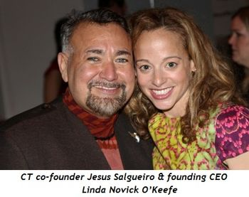 3 - CT co-founder Jesus Salguiero and founding CEO Linda Novick O'Keefe
