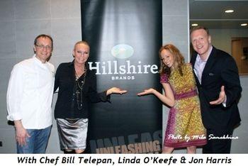 12 - With Chef Bill Telepan, Linda O'Keefe and co-chair Jon Harris