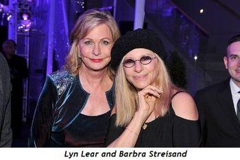 2 - Lyn Lear and Barbra Streisand