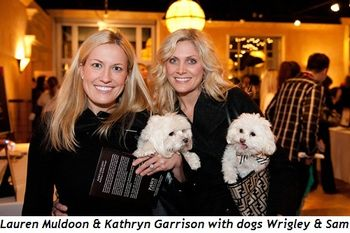 6 - Lauren Muldoon & Kathryn Garrison with dogs Wrigley & Sam
