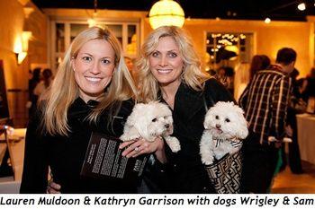 6 - Lauren Muldoon & Kathryn Garrison with dogs Wrigley & Sam