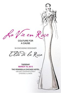Elda fashion show invite