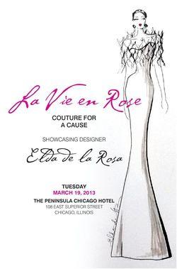 Elda fashion show invite