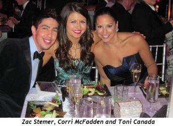 8 - Zac Stemer, Corri McFadden and Toni Canada