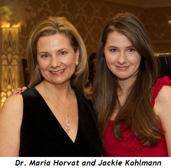 3 - Dr Maria Horvat, Jackie Kohlmann