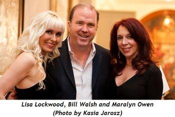 3 - Lisa Lockwood, Bill Walsh and Maralyn Owen (Kasia Jarosz photo)