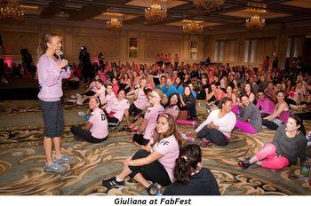 2 - Giuliana at FabFest