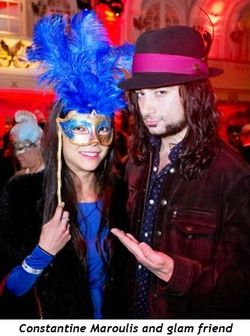 2 - Constantine Maroulis and glam friend