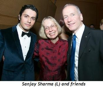 5 - Sanjay Sharma (L) and friends