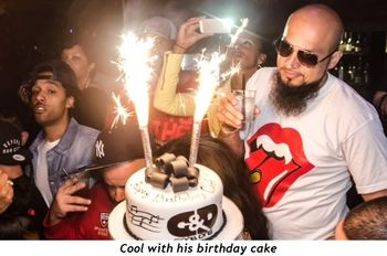 1 - Cool with his birthday cake