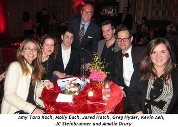 Amy Tara Koch, Molly Each, Jared Hatch, Greg Hyder, Kevin Aeh, JC Steinbrunner, Amalie Drury