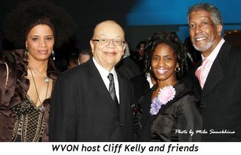 17 - WVON host Cliff Kelly and friends