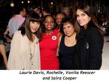 3 - Laurie Davis, Rochelle, Vonita Reescer and Saira Cooper
