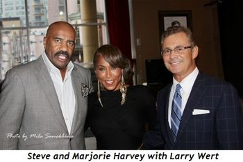 Blog 1 - Steve and Marjorie Harvey with Larry Wert