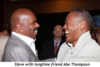Blog 13 - Steve with longtime friend Abe Thompson