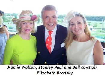 Blog 3 - Mamie Walton, Stanley Paul and Ball co-chair Elizabeth Brodsky