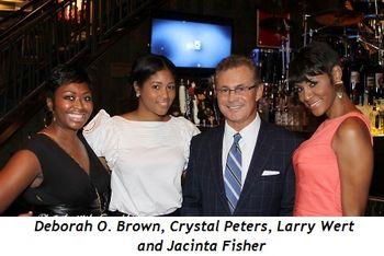 Blog 6 - Deborah O. Brown, Crystal Peters, Larry Wert, and Jacinta Fisher
