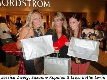 Jessica Zweig, Suzanne Kopulos and Erica Bethe Levin