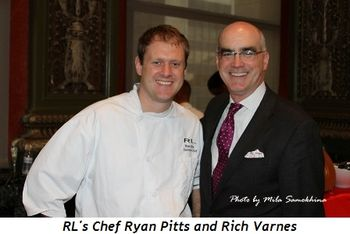 Blog 10 - RL's Chef Ryan Pitts and Rich Varnes