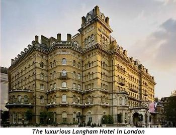 Blog 3 - The luxurious Langham Hotel, London