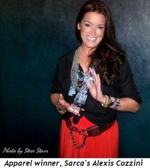 Blog 12 - Apparel category winner, Sarca's Alexis Cozzini