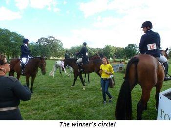 Blog 10 - The winner's circle