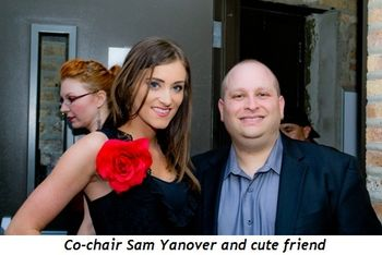 Blog 2 - Co-chair Sam Yanover and cute friend