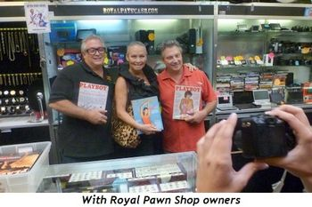 Blog 1 - With Royal Pawn Shop owners