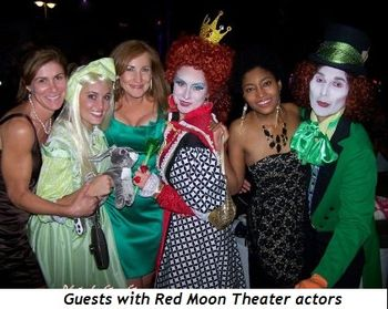 Blog 1 - Guests with Red Moon Theater actors