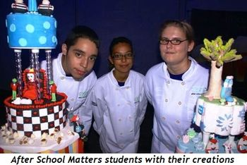 Blog 7 - After School Matters students with their creations