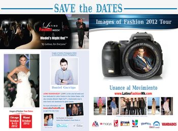 Latino Fashion Week Save the Date