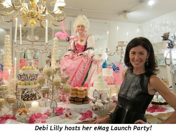 Blog 1 - Debi Lilly hosts her eMag Launch Party