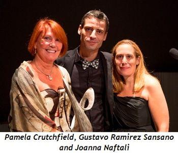 Blog 1 - Pamela Crutchfield, Gustavo Ramirez Sansano (LN Artistic Dirctor), Joanna Naftali (LN Executive Director)