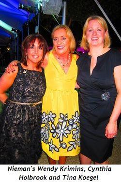 Blog 2 - Neiman's Wendy Krimins, Cynthia Holbrook and Tina Koegel