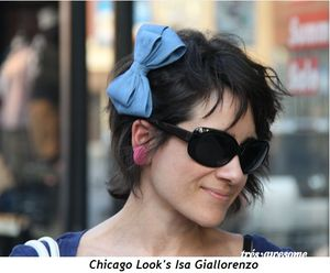 Chicago Look's Isa Giallorenzo