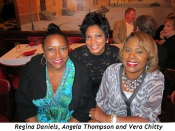 Regina Daniels, Angela Thompson, Vera Chitty