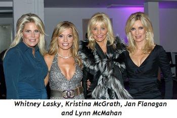 Blog 6 - Whitney Lasky, co-chair Kristina McGrath, Jan Flanagan and Lynn McMahan