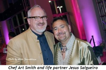 Blog 9 - Chef Art Smith and life partner Jesus Salgueiro