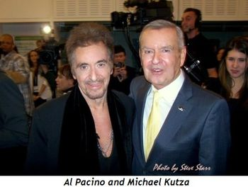 Blog 1 - Al Pacino and Michael Kutza