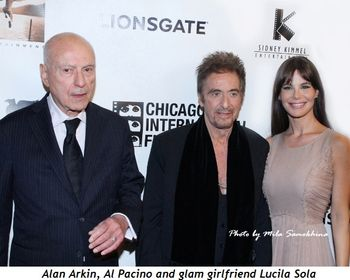 Blog 12 - Alan Arkin, Al Pacino and glam girlfriend Lucila Sola