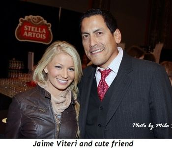 Blog 16 - Jaime Viteri and cute friend