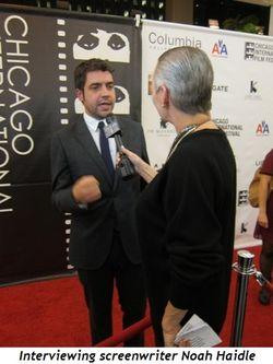 Blog 18 - Interviewing screenwriter Noah Haidle