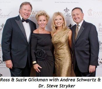 Blog 5 - Ross & Suzie Glickman with Andrea Schwartz & Steve Stryker