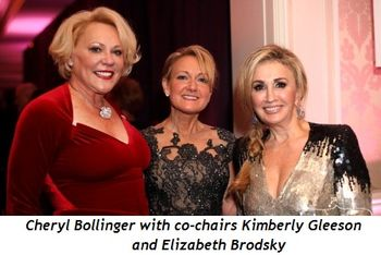 Blog 1 - Cheryl Bollinger with co-chairs Kimberly Gleeson and Elizabeth Brodsky