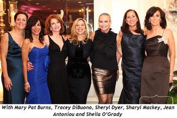 Blog 4 - With Mary Pat Burns, Tracey DiBuono, Sheryl Dyer, Sharyl Mackey, Jean Antoniou and Sheila O'Grady
