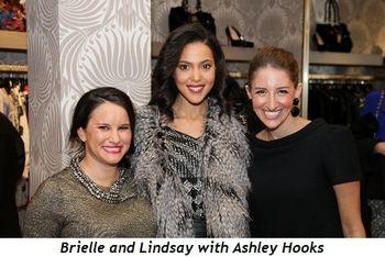 Brielle Buchberg, Ashley Hooks, Lindsay Segal