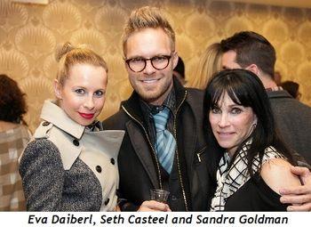 Eva Daiberl, Seth Casteel, Sandra Goldman