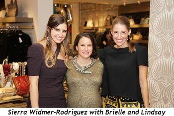 Sierra Widmer-Rodriguez, Brielle Buchberg, Lindsay Segal