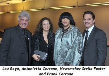 Blog 2 - Lou Rago, Antonietta Cerrone, Newsmaker Stella Foster, Frank Cerrone